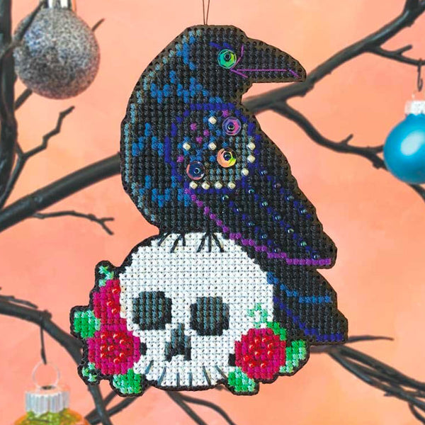 Nevermore Cross Stitch Ornament Kit