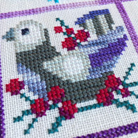 Invierno Winter Sampler Cross Stitch Pattern