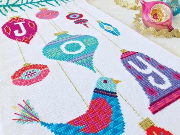 Joy Cross Stitch Pattern