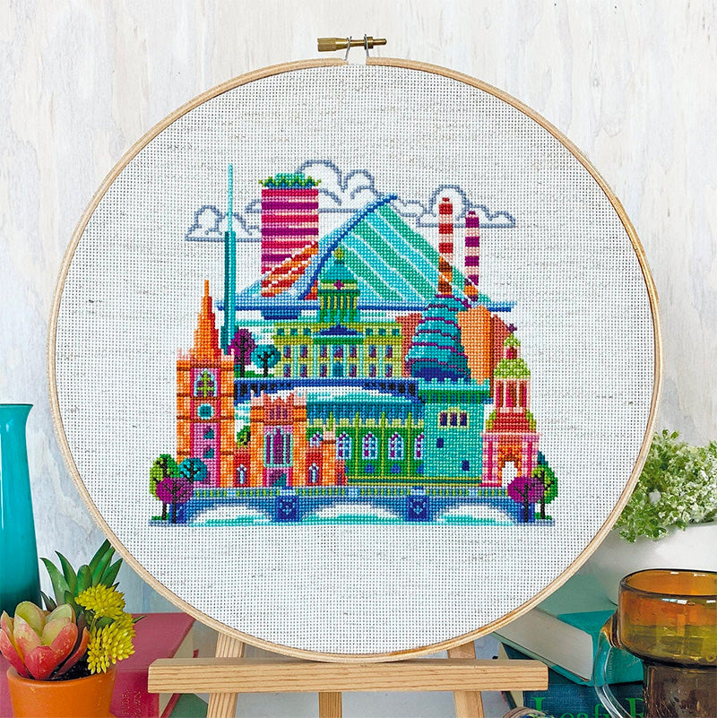 Pretty Little Dublin Cross Stitch Pattern