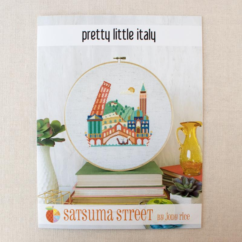 Pretty Little Italy Cross Stitch Pattern