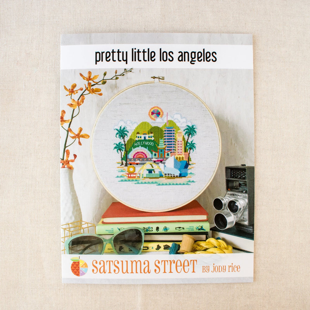 Pretty Little Los Angeles Cross Stitch Pattern