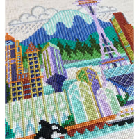 Pretty Little Seattle Cross Stitch Pattern