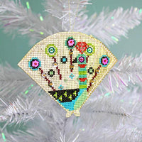 Shiny Little Zoo Cross Stitch Ornament Kit