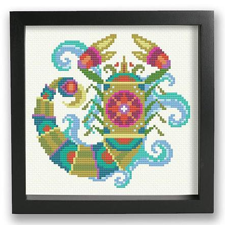 Zodiac Cross Stitch Pattern - Scorpio