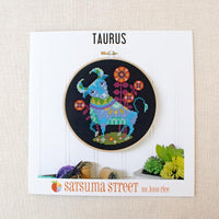 Zodiac Cross Stitch Pattern - Taurus