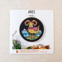 Zodiac Cross Stitch Pattern - Aries