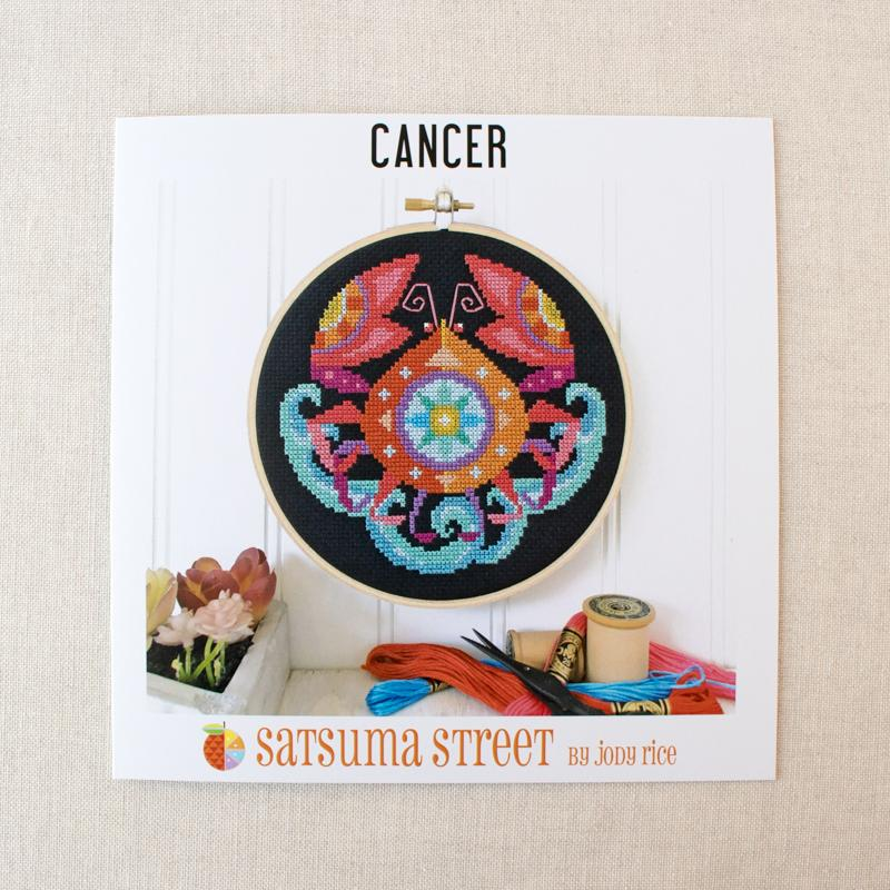 Zodiac Cross Stitch Pattern - Cancer