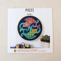 Zodiac Cross Stitch Pattern - Pisces