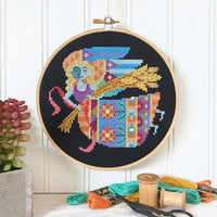 Zodiac Cross Stitch Pattern - Virgo