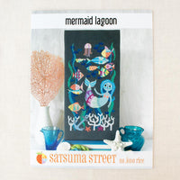 Mermaid Lagoon Cross Stitch Pattern