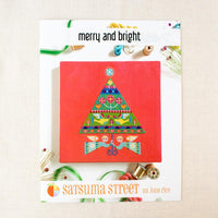 Merry & Bright Cross Stitch Pattern