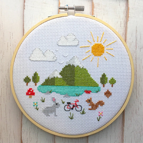 Great Outdoors Cross Stitch Kit