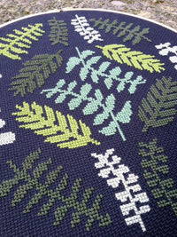 Ferns Cross Stitch Pattern