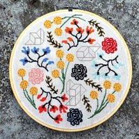 Floral Boogie Cross Stitch Pattern