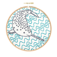Narly Narwhal Hand Embroidery Kit