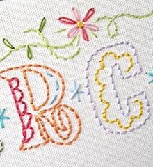 Sublime Stitching Embroidery Transfer Pattern - Epic Alphabet