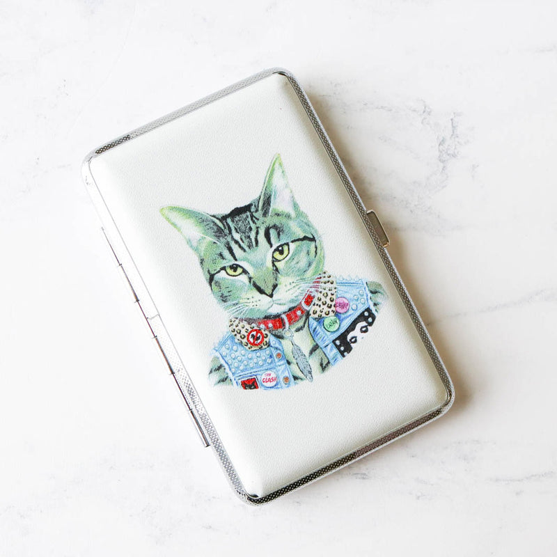 Embroidery Tool Case with (or without) Tools - Punk Cat
