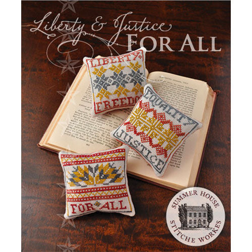 Liberty & Justice For All Cross Stitch Pattern