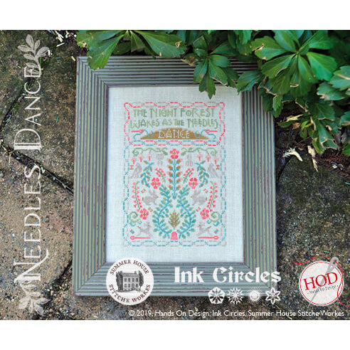 Needles Dance Cross Stitch Pattern