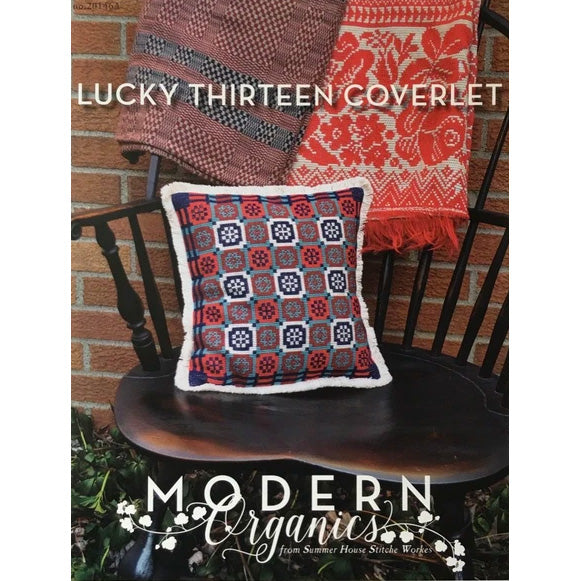 Lucky Thirteen Coverlet Cross Stitch Pattern