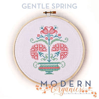 Gentle Spring Cross Stitch Pattern