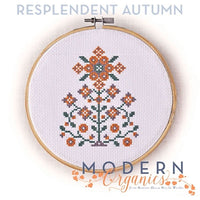 Resplendent Autumn Cross Stitch Pattern