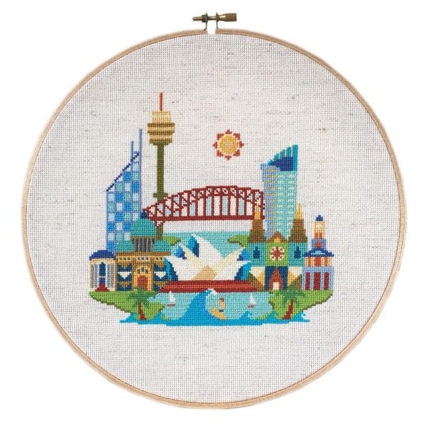 Pretty Little Sydney Cross Stitch Pattern