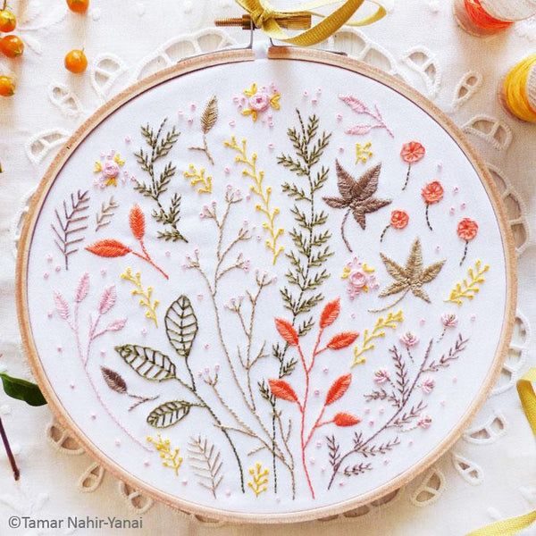 Tamar Hand Embroidery Kits And Patterns Stitched Modern