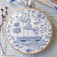 Blue Ocean Hand Embroidery Kit
