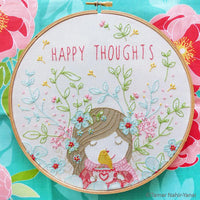Happy Thoughts Hand Embroidery Kit