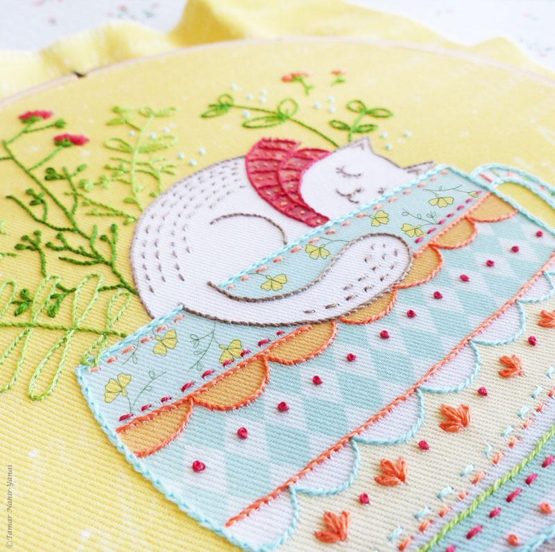 Sweet Dreams Hand Embroidery Kit
