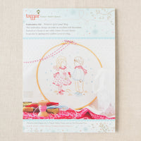 Winter Girl and Boy Hand Embroidery Kit