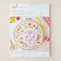 Enjoy Life Hand Embroidery Kit