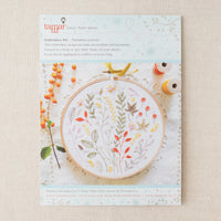 Autumn Leaves Hand Embroidery Kit