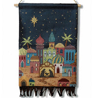Bethlehem Christmas Nativity Scene Cross Stitch Pattern