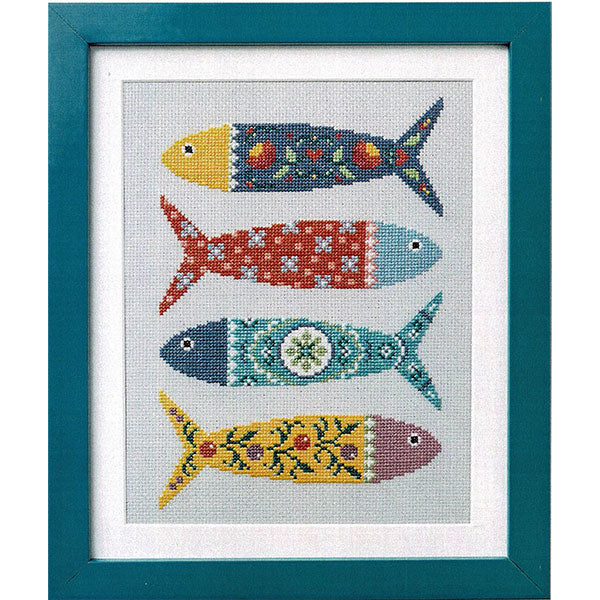 Portuguese Fish Cross Stitch Pattern