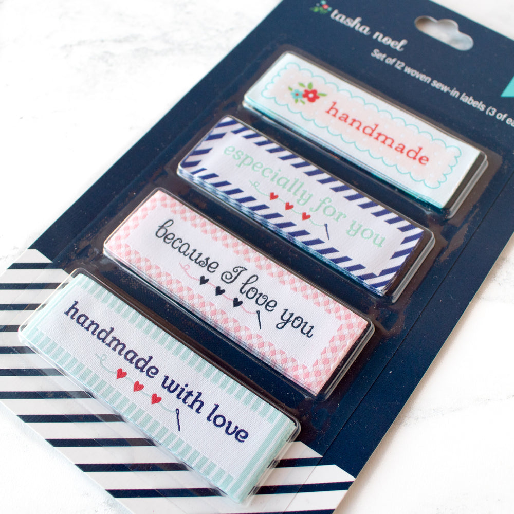 Tasha Noel Sew-In Woven Labels for Handmade Gifts