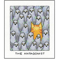 'The Antagonist' Cross Stitch Kit