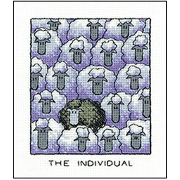 'The Individual' Cross Stitch Kit