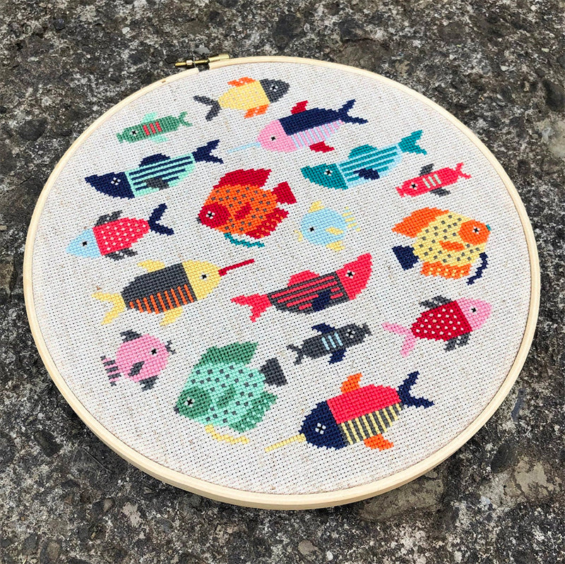 Fishy Cross Stitch Pattern