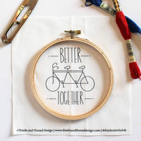Better Together Hand Embroidery Kit (20% OFF)