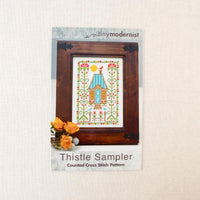 Thistle Sampler Cross Stitch Pattern