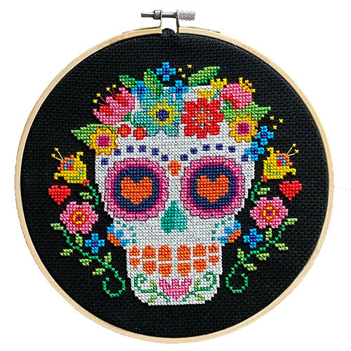 Day of the Dead Cross Stitch Pattern