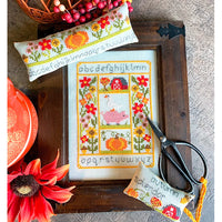 Rustic Autumn Set Cross Stitch Pattern