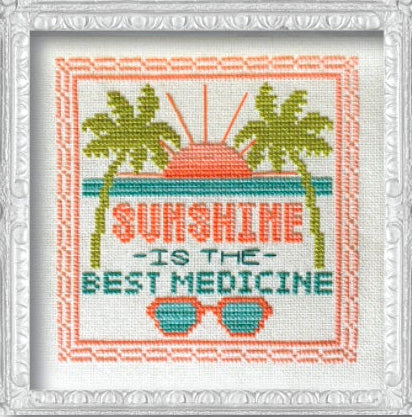 Summer Signs Cross Stitch Pattern