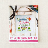 Every Day Is An Adventure Cross Stitch Pattern