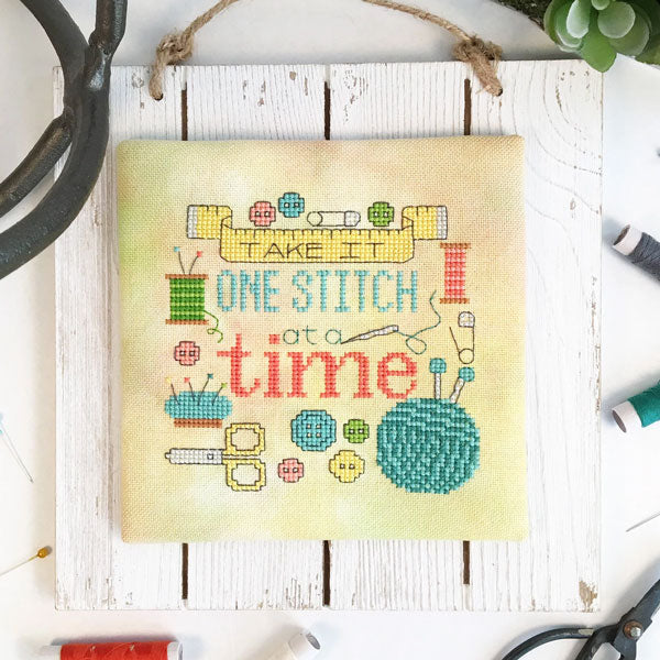 One Stitch At A Time Cross Stitch Pattern