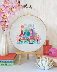 Pretty Little Tokyo Cross Stitch Pattern