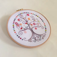 French Hand Embroidery Kit - Arbre de Vie (Tree of Life)